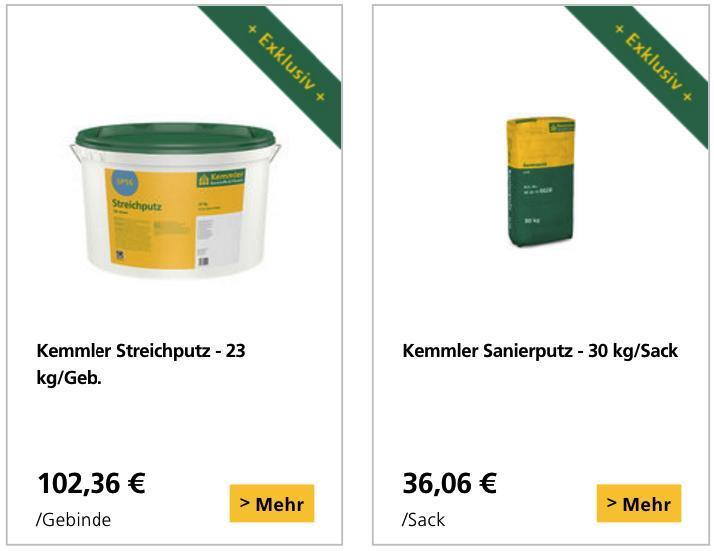 Produkte Kemmler Online