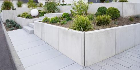 Mauersysteme, Stufen & Einfassungen