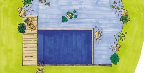 Schwimmteich anlegen - Schritt für Schritt 490x250