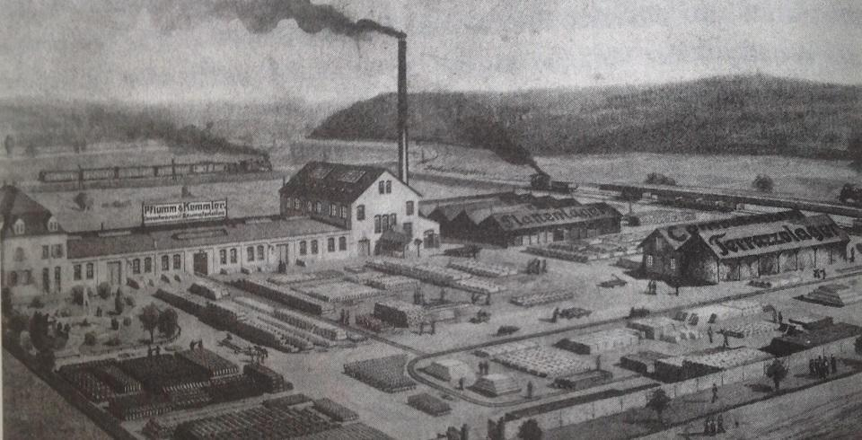 firmengelände 1910 kemmler alt