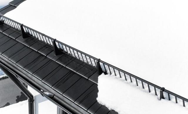 schutz vor Dachlawine Schneefangsysteme