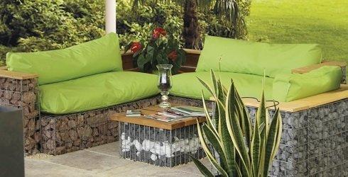 Gartendekoration, Inspiration, 490x290, gabionen