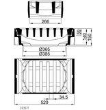 Längsaufsatz 300x500 SW34,5 Kl.C PF m.E.
