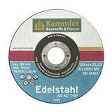 Kemmler Edelstahl Trennscheibe ETS23 230x1,9x22,2 mm