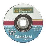 Kemmler Edelstahltrennscheibe AS 60 T 125x1x22,2 mm
