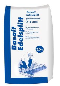 basalt edelsplitt korn 2 5 mm 25 kg sack. Black Bedroom Furniture Sets. Home Design Ideas