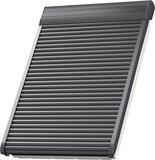 VELUX Elektro-Rollladen SML MK06 0000S MK06/78x118 cm SML 0000S - Aluminium Dunkelgrau