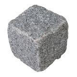 Apfl Granit Pflasterstein 50x50x50 mm Grau-blau