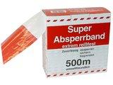 HaWe Absperrband - rot/weiß