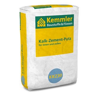 kemmler kalk zement putz 30 kg sack. Black Bedroom Furniture Sets. Home Design Ideas
