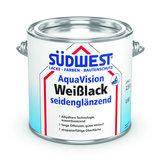 Südwest AquaVision PU Weißlack Satin 0,75 Liter Satin