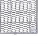 MEA Gitterrost Lichtschacht Streckmetall Abmessung L/B - 1250x400 mm