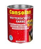 Consolan Wetterschutz Farbe 0,75 Liter Rotbraun