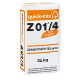 QUICK MIX Zementmörtel Z01/4