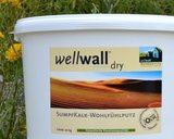 wellwall dry - Sumpfkalk Wohlfühlputz ohne Farbpigmentierung