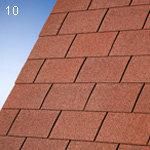IKO Bitumenschindel Monarch - Rechteck-Form Monarch ziegelrot [Nr.10]
