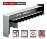 RBB Aluminium Gleitendstück RAG² 40 Ausladung 260 mm RAL 9016