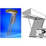 Wellhöfer Holz-Bodentreppe - 3-tlg., 3D 1300x600x250 mm