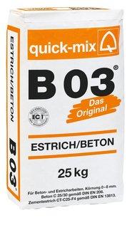 quick-mix Betonestrich B03