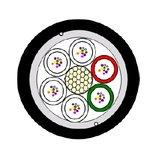 Glasfaserkabel A-DQ(ZN)B2Y 12x12 E9/125-